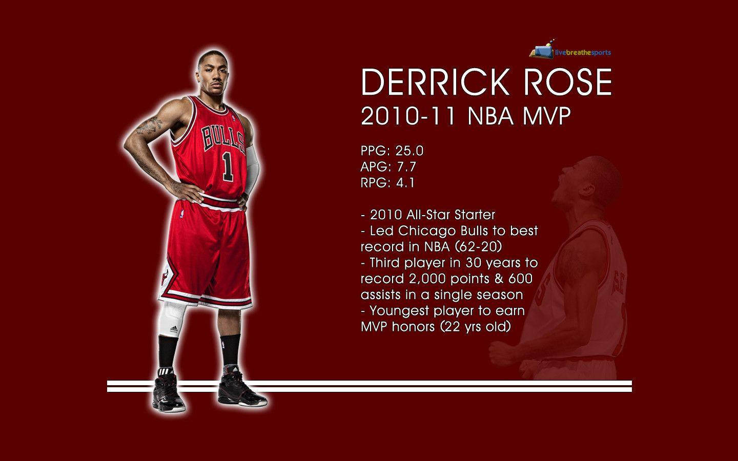 Derrick Rose Desktop Wallpapers 1440x900