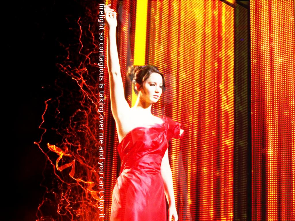 Katniss   Katniss Everdeen Wallpaper 28169669 1024x768