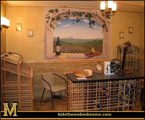 tuscan wallpaper murals 504x418