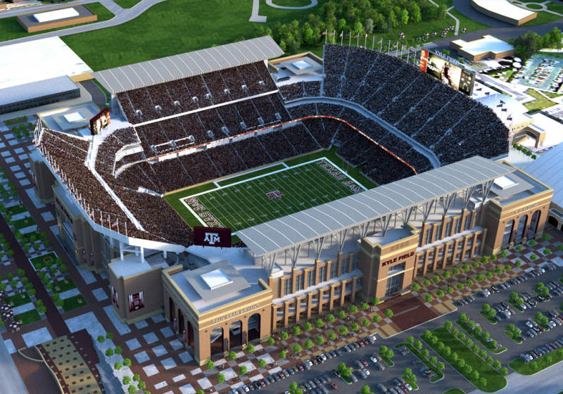 Kyle Field Redevelopment Approved by Texas AM Board of Regents 800x560