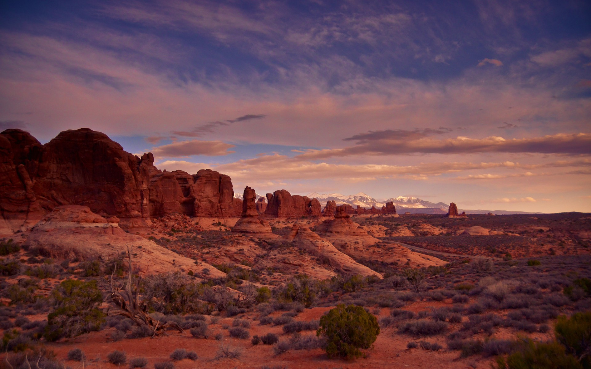 Arches National Park Utah wallpapers Arches National Park Utah stock 1920x1200