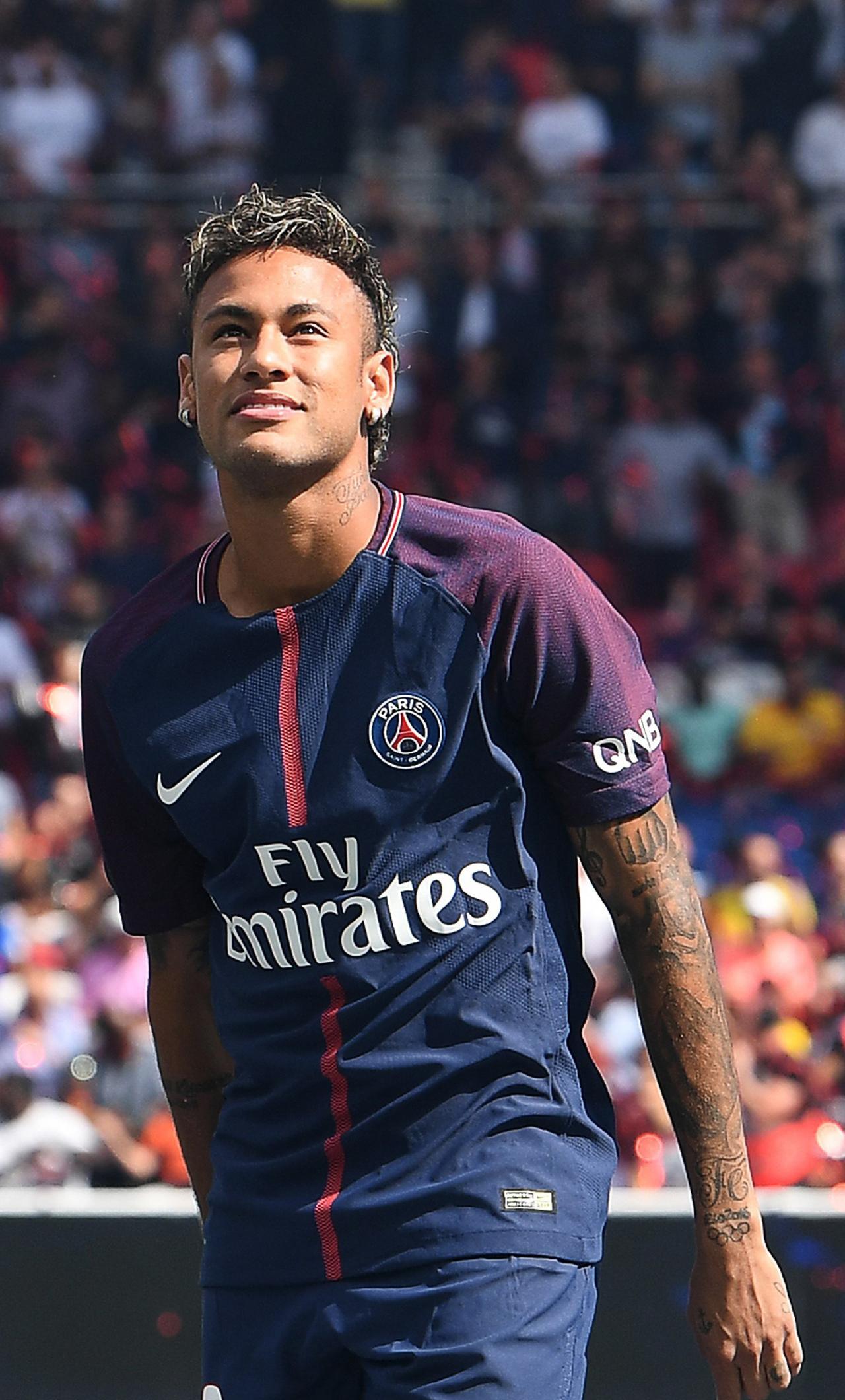 Neymar Psg HD 4K Wallpaper 1280x2120