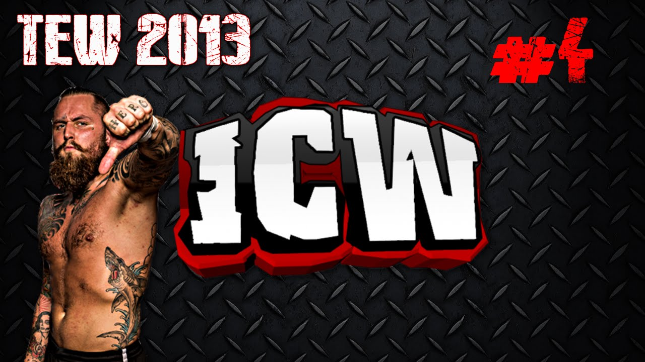 TEW 2013 Insane Championship Wrestling 4   Lots of Background 1280x720
