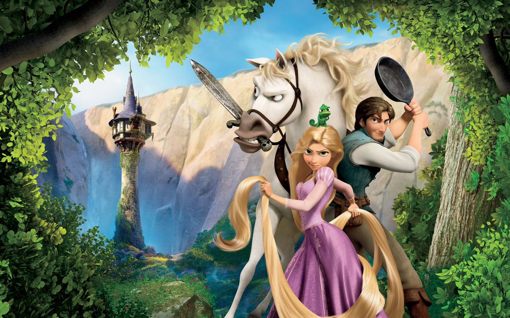 Fotos   Rapunzel Tangled X Cartoon Wallpaper With 1728x1080