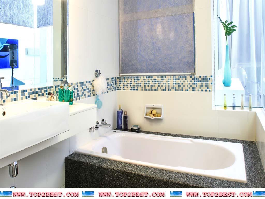 1024x768px Bathroom Wallpaper Design Ideas - WallpaperSafari