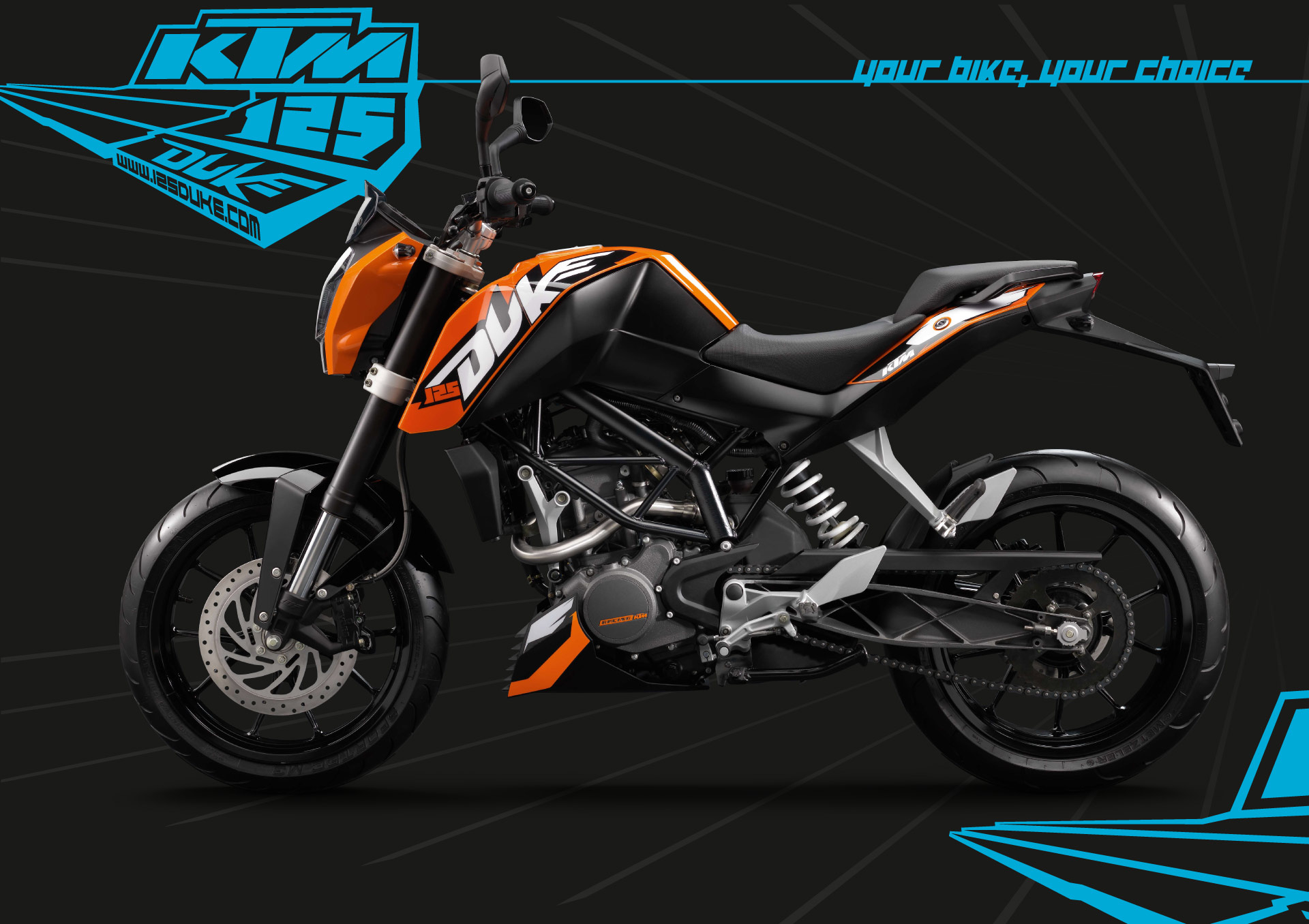 KTM Duke Bike HD Wallpapers 1920x1356