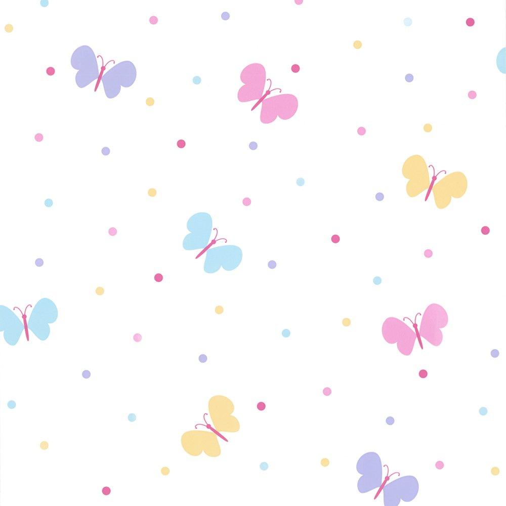 Wallpaper Fun4Walls Fun4Walls Butterfly Garden Childrens Kids 1000x1000