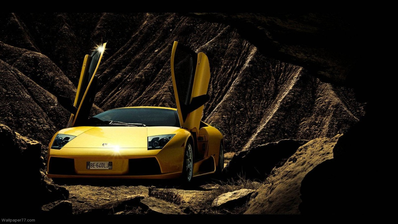 Lamborghini Murcielago Cave car wallpapers lamborghini wallpapers 1280x720