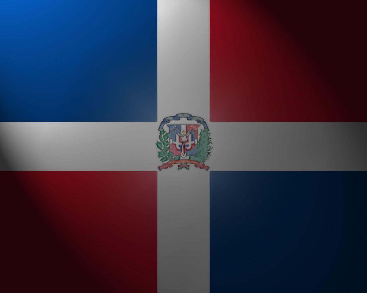 Dominican republic flag wallpaper   SF Wallpaper 1280x1024