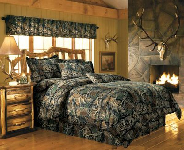 camouflage boys room ideas Camo decorations for a room7 600x491