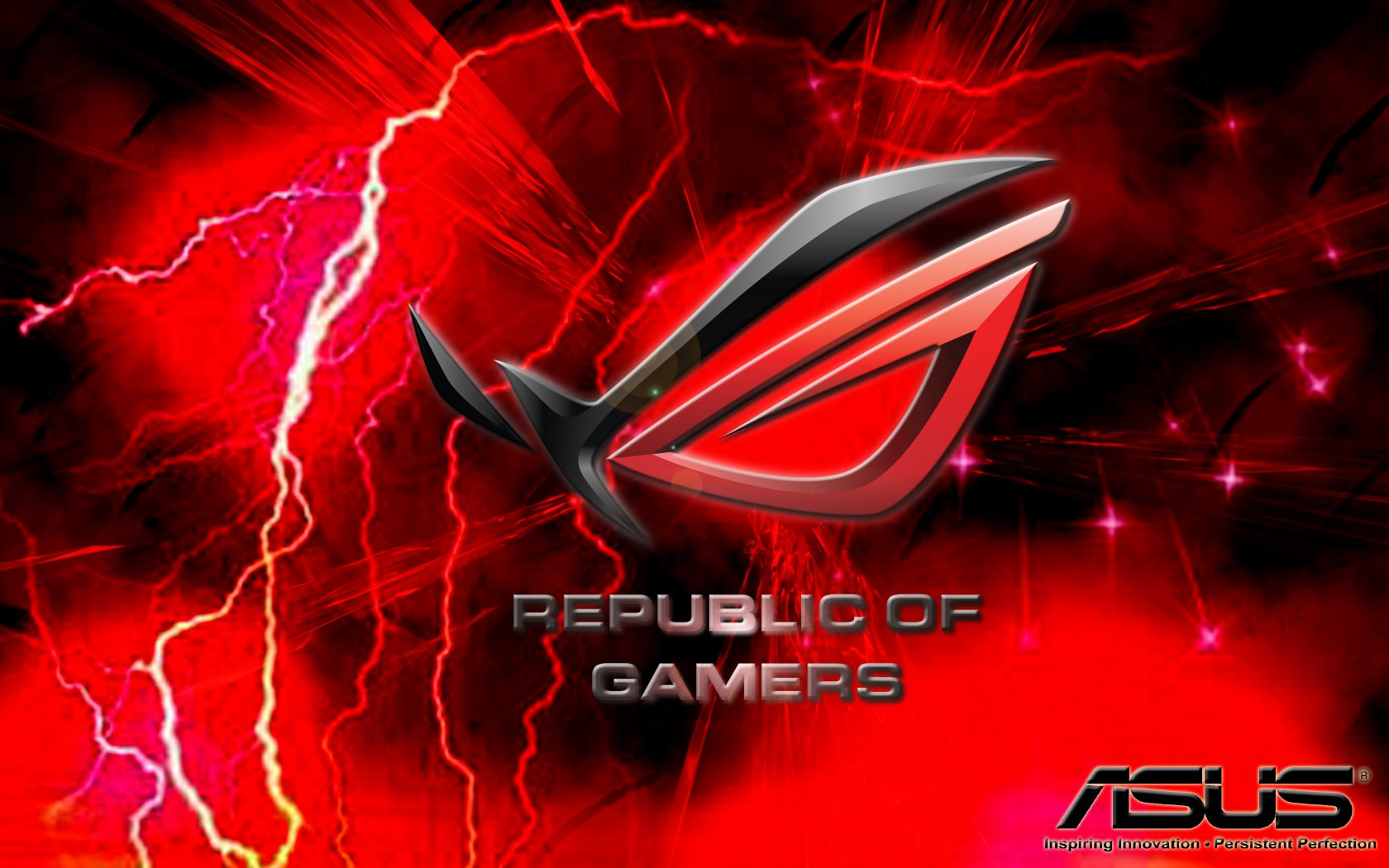 asus republic of gamers wallpaper wallpapersafari. Black Bedroom Furniture Sets. Home Design Ideas