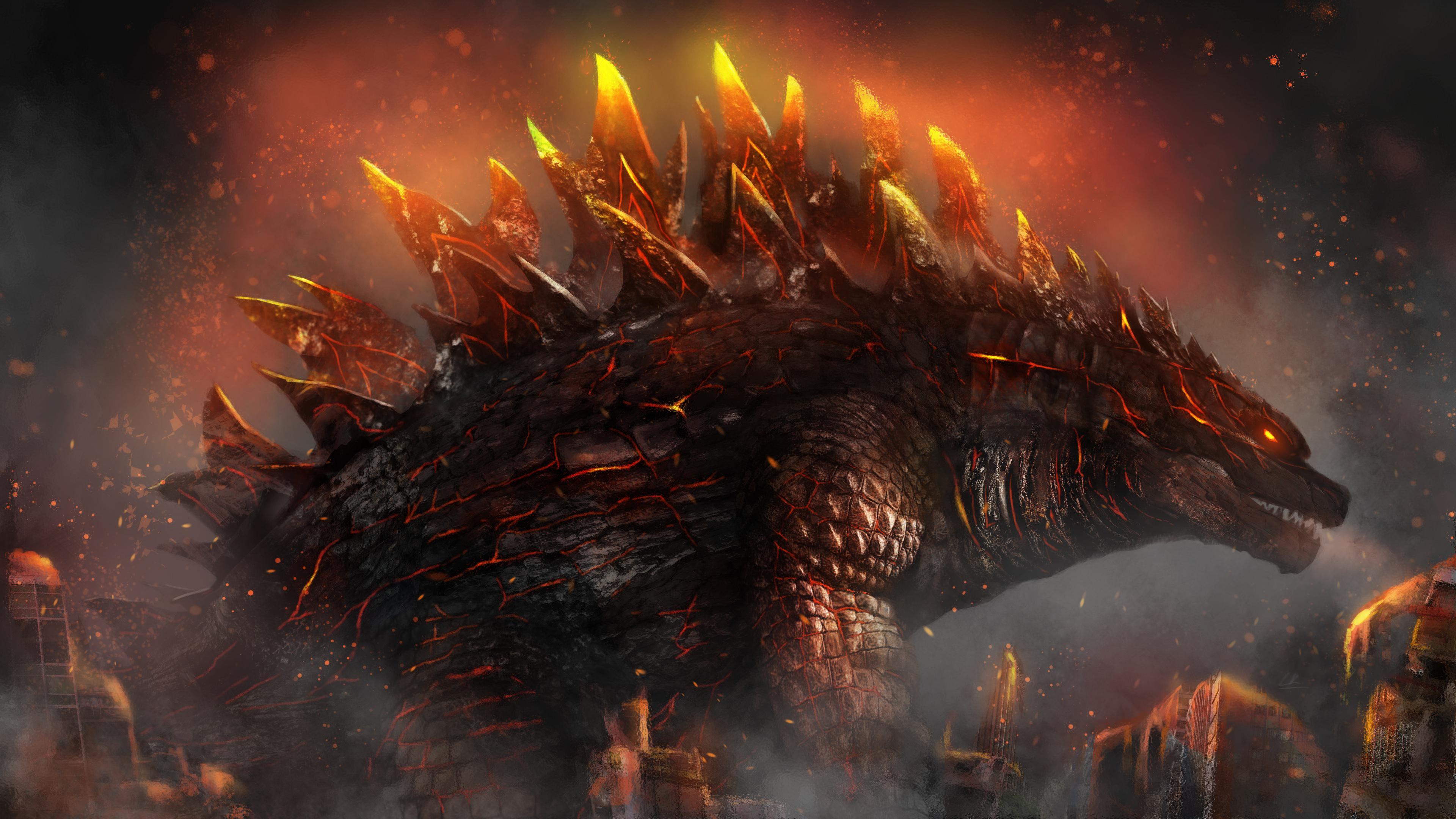 Godzilla Anime Wallpapers   Top Godzilla Anime Backgrounds 3840x2160