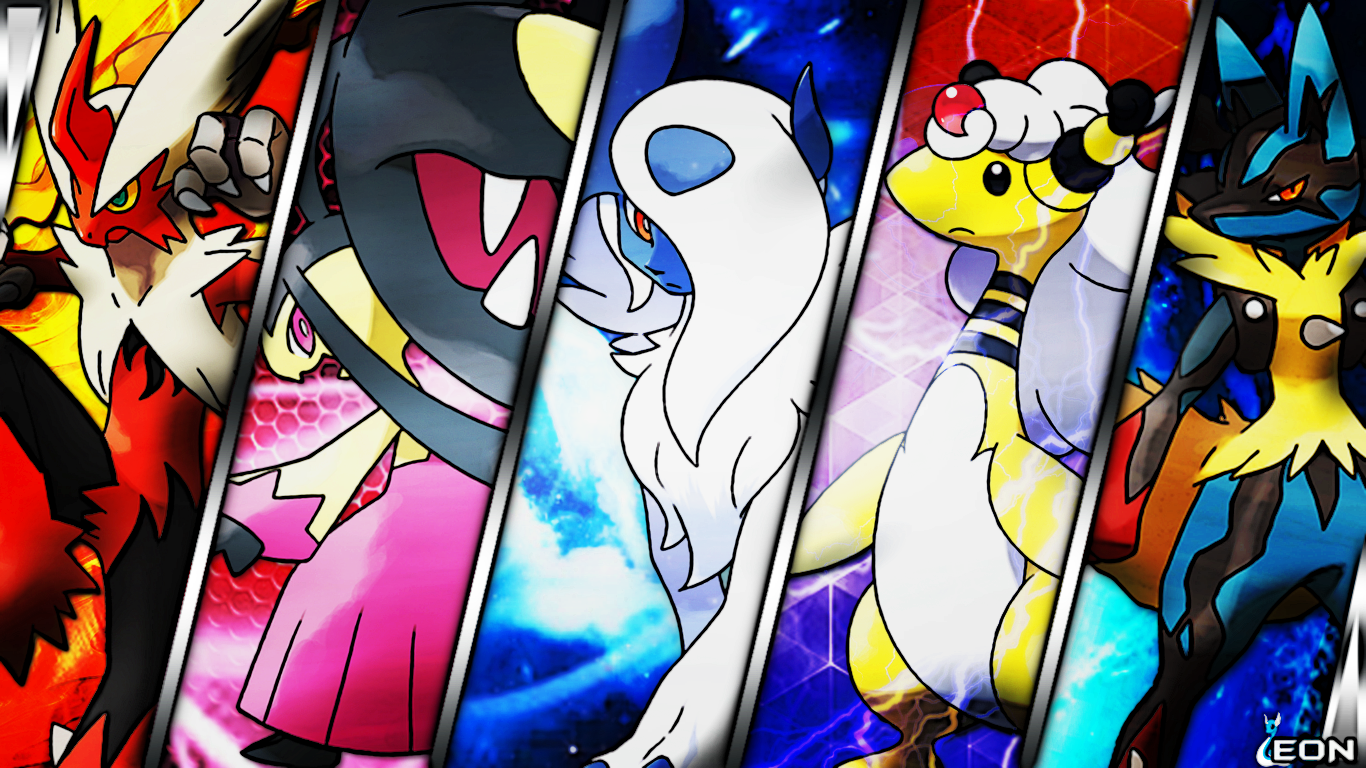 Pokemon Mega Evolutions Wallpaper WallpaperSafari