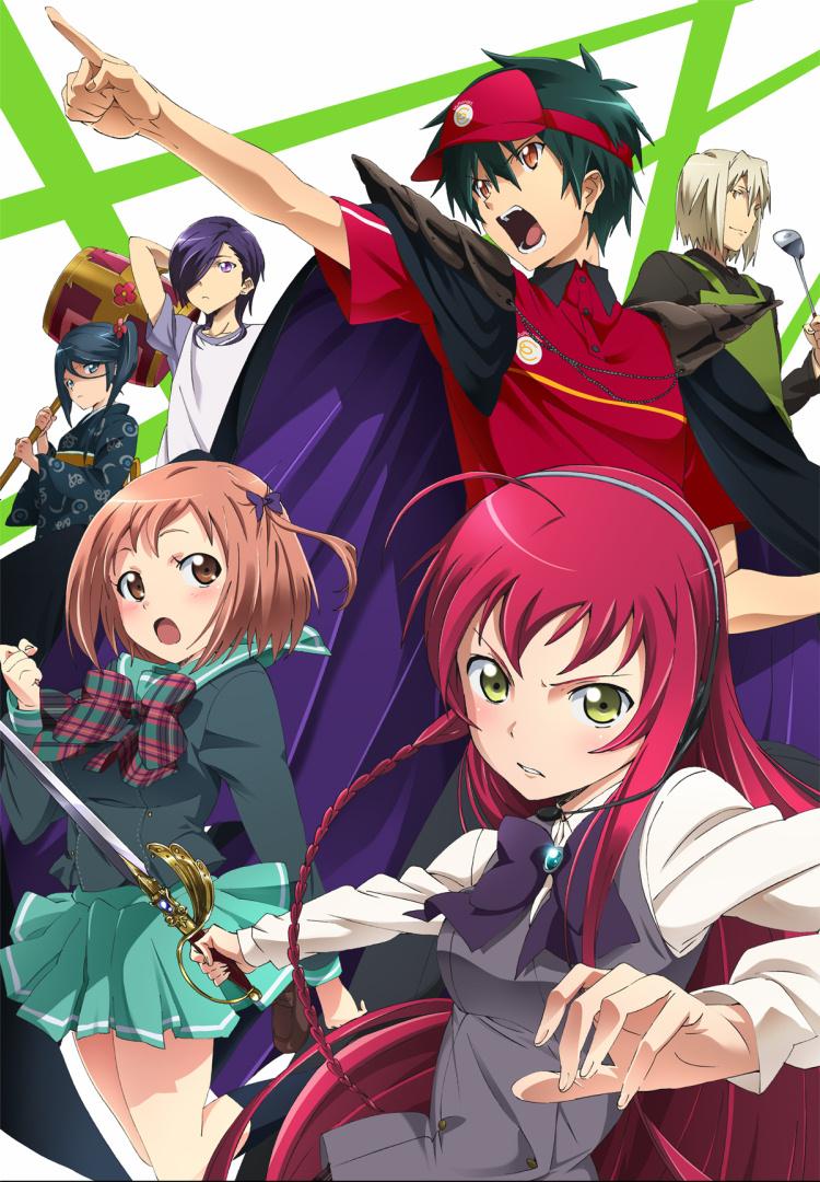 Hataraku Maou sama Mobile Wallpaper   Zerochan Anime Image Board 750x1080