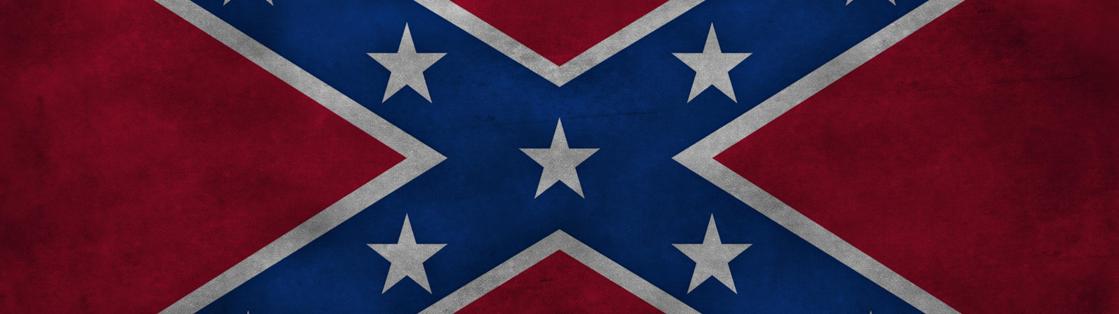 grunge flags confederate flag HD Wallpaper   General 249234 3840x1080