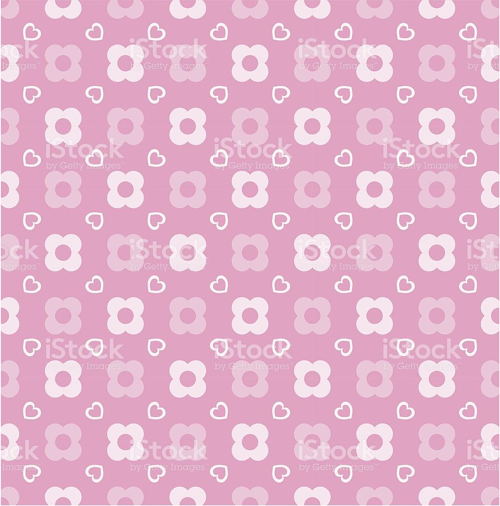 Seamless Pink Jpop Wallpaper Stock Illustration   Download Image 1011x1024