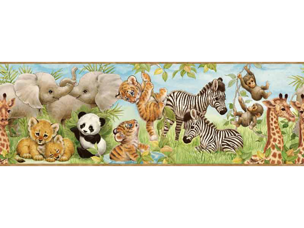 Baby Animal Wallpaper Borders deqabusy91 600x450