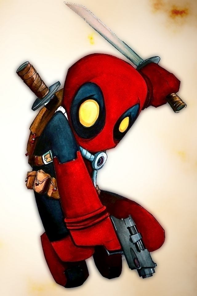 Deadpool   Download iPhoneiPod TouchAndroid Wallpapers Backgrounds 640x960