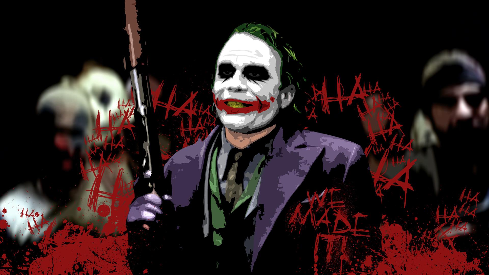 joker   The Joker Wallpaper 28092799 1920x1080