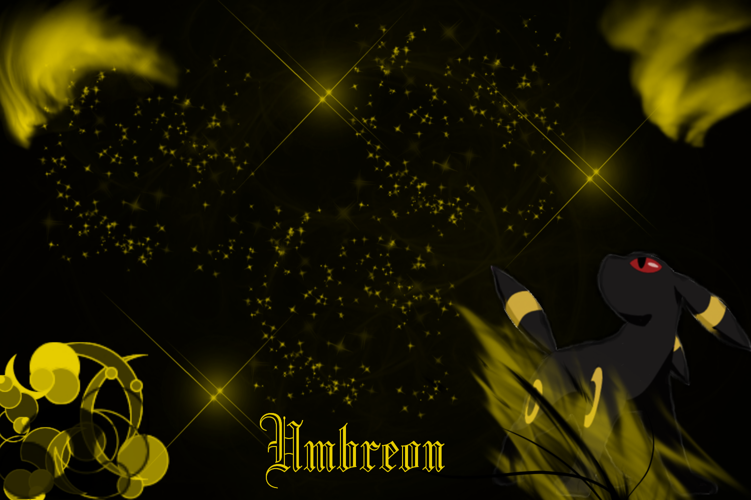 Umbreon Wallpaper by SlaveWolfy 1500x1000