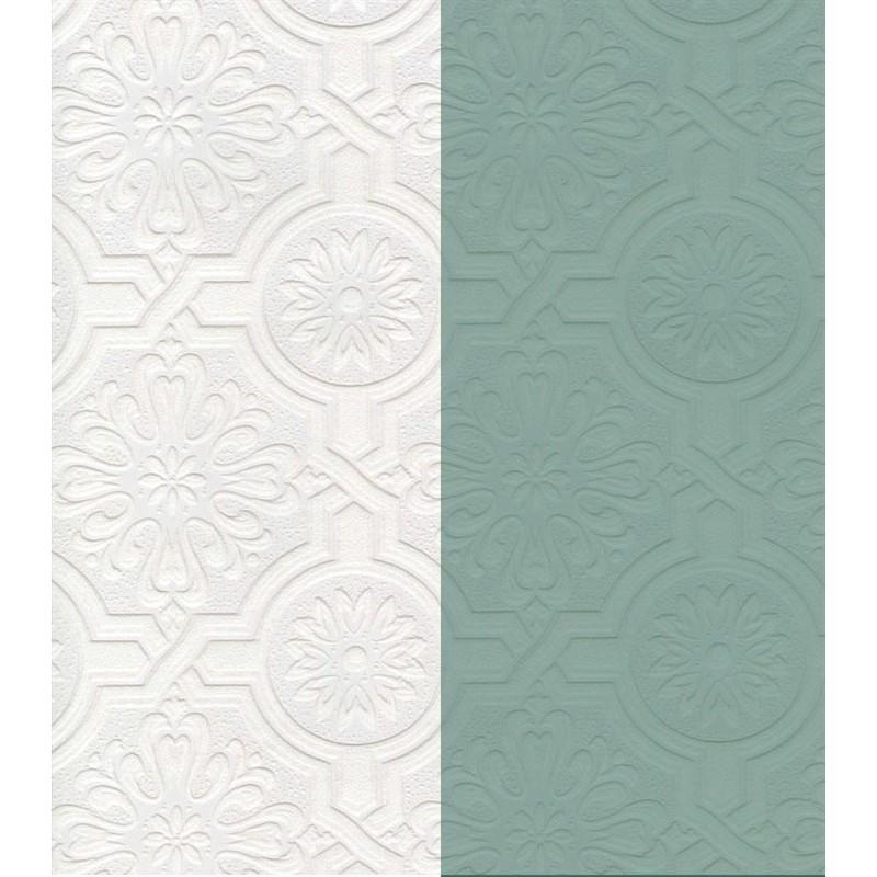 Wallpaper Paintable Paintable Pressed Medallion Wallpaper 800x800