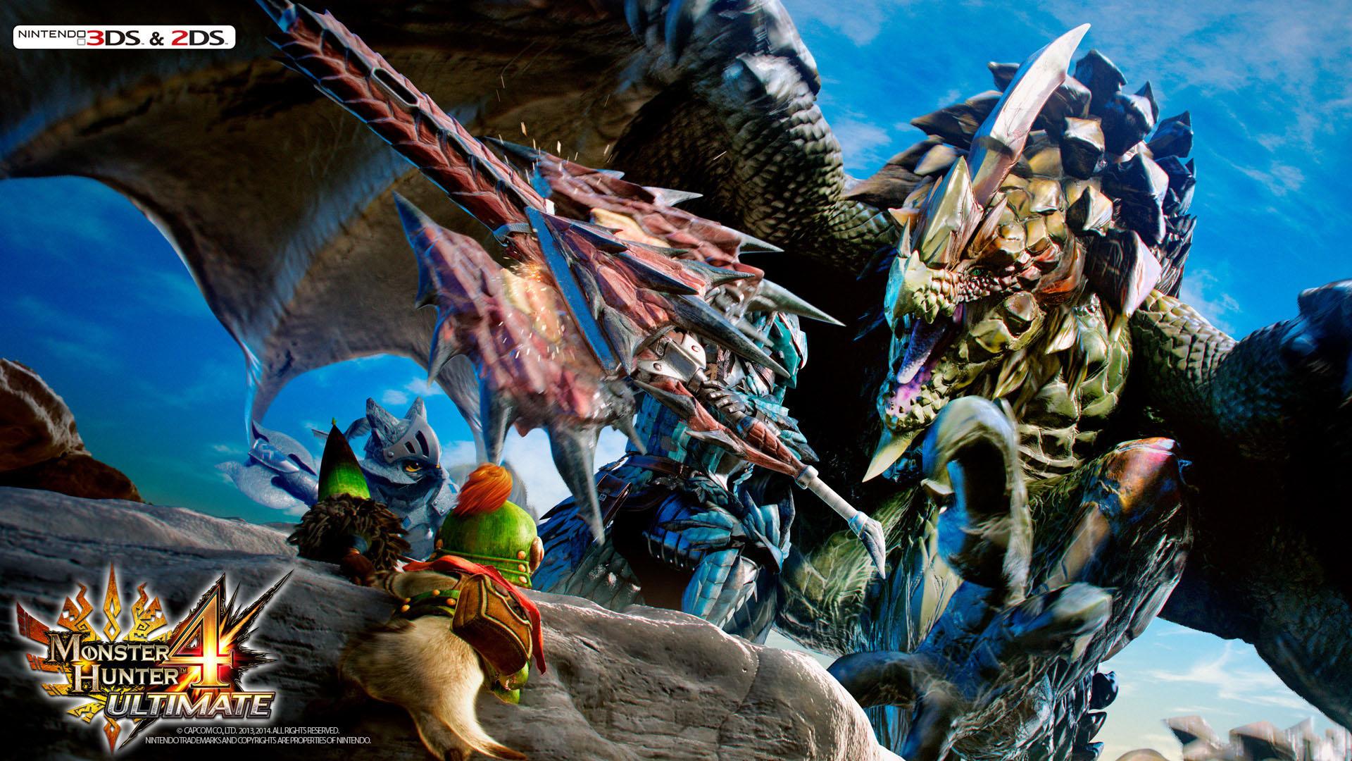 Free Download Pics Photos Monster Hunter 4 Wallpaper For Desktop