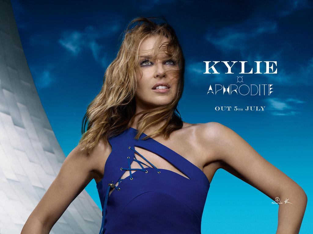 Kylie   Aphrodite wallpaper by Ludingirra 1024x768