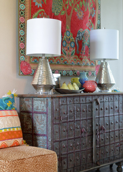 My Houzz Color Happy Country Living in Fort Worth 400x560