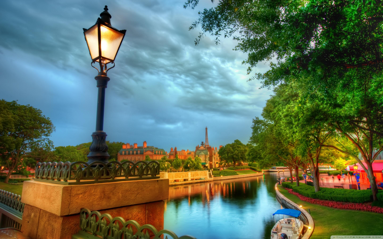 The French Quarter Of Disney 4K HD Desktop Wallpaper for 4K 2880x1800