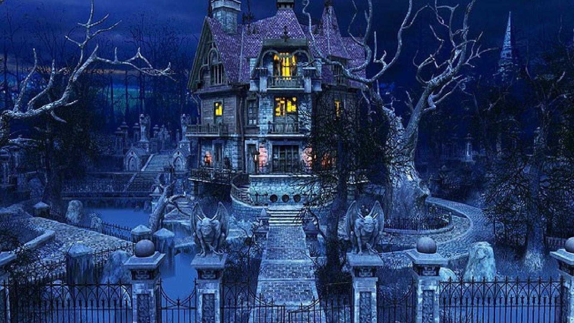 Haunted Mansion Desktop Wallpaper The Haunted Mansion Wa...