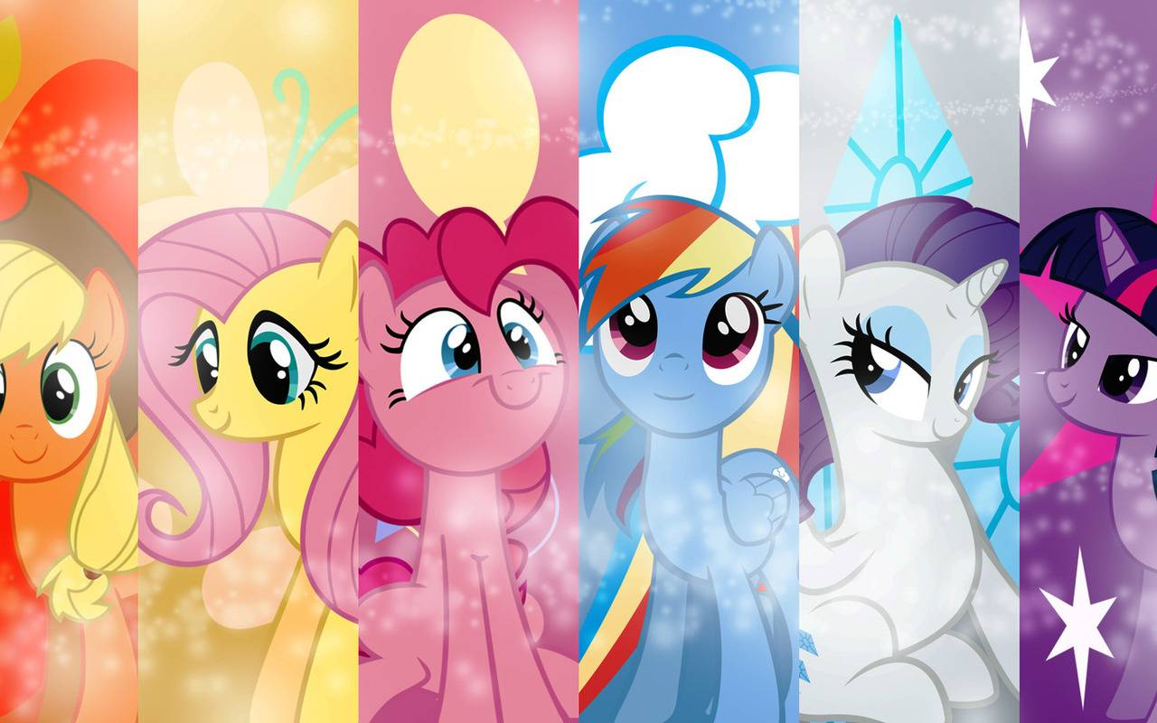 My little pony   My Little Pony Friendship is Magic Wallpaper 1280x800
