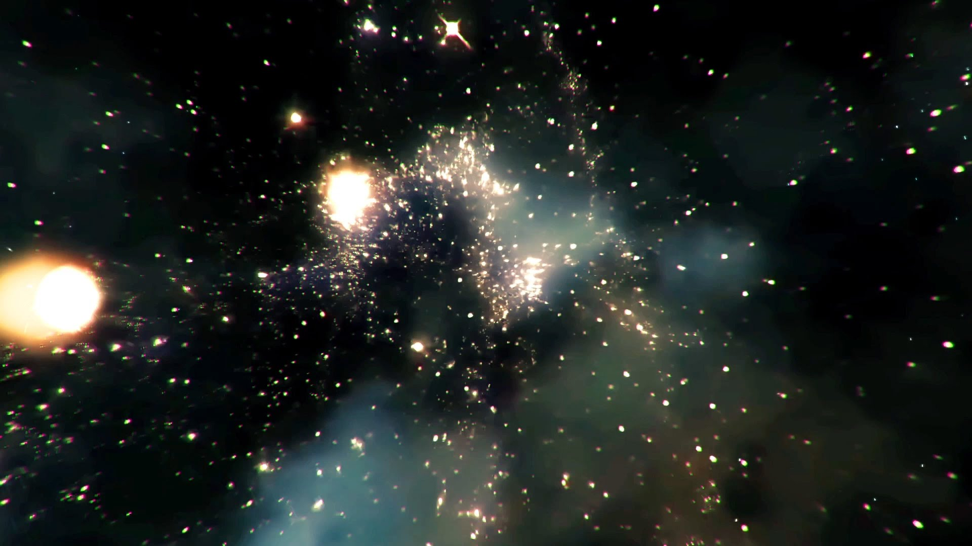 Animated Backgrounds Interstellar Deep Space   Footage 1920x1080