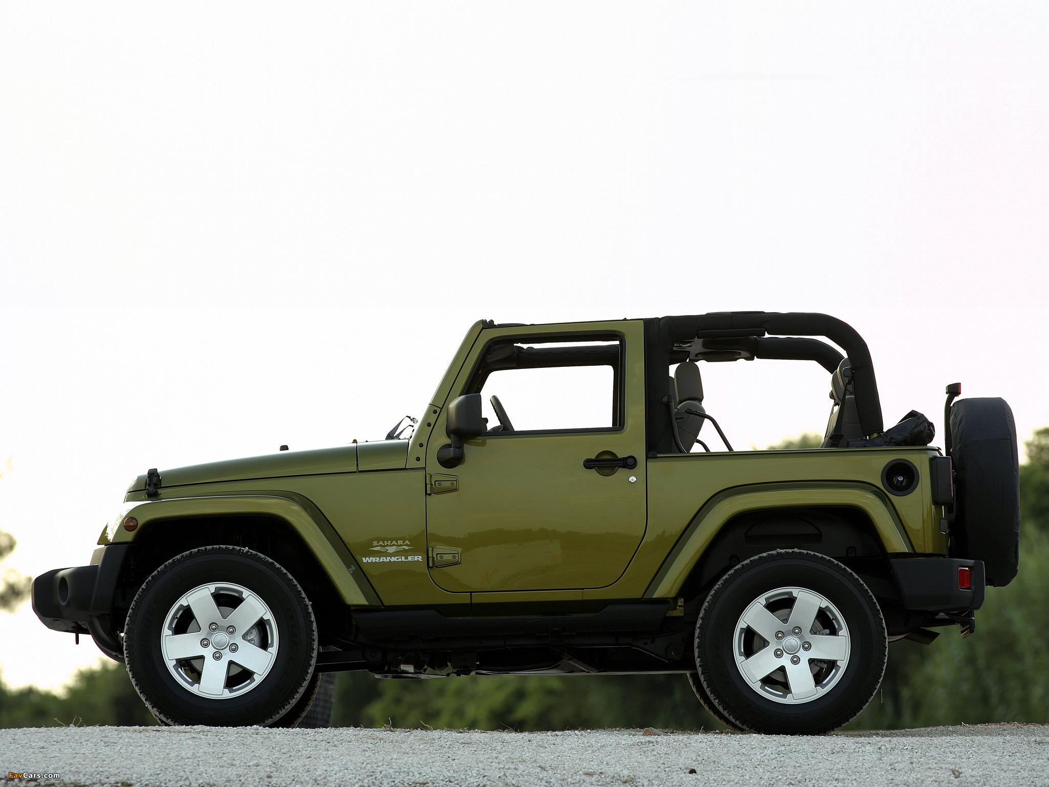 Wallpapers of Jeep Wrangler Sahara JK 2007 2048 x 1536 2048x1536