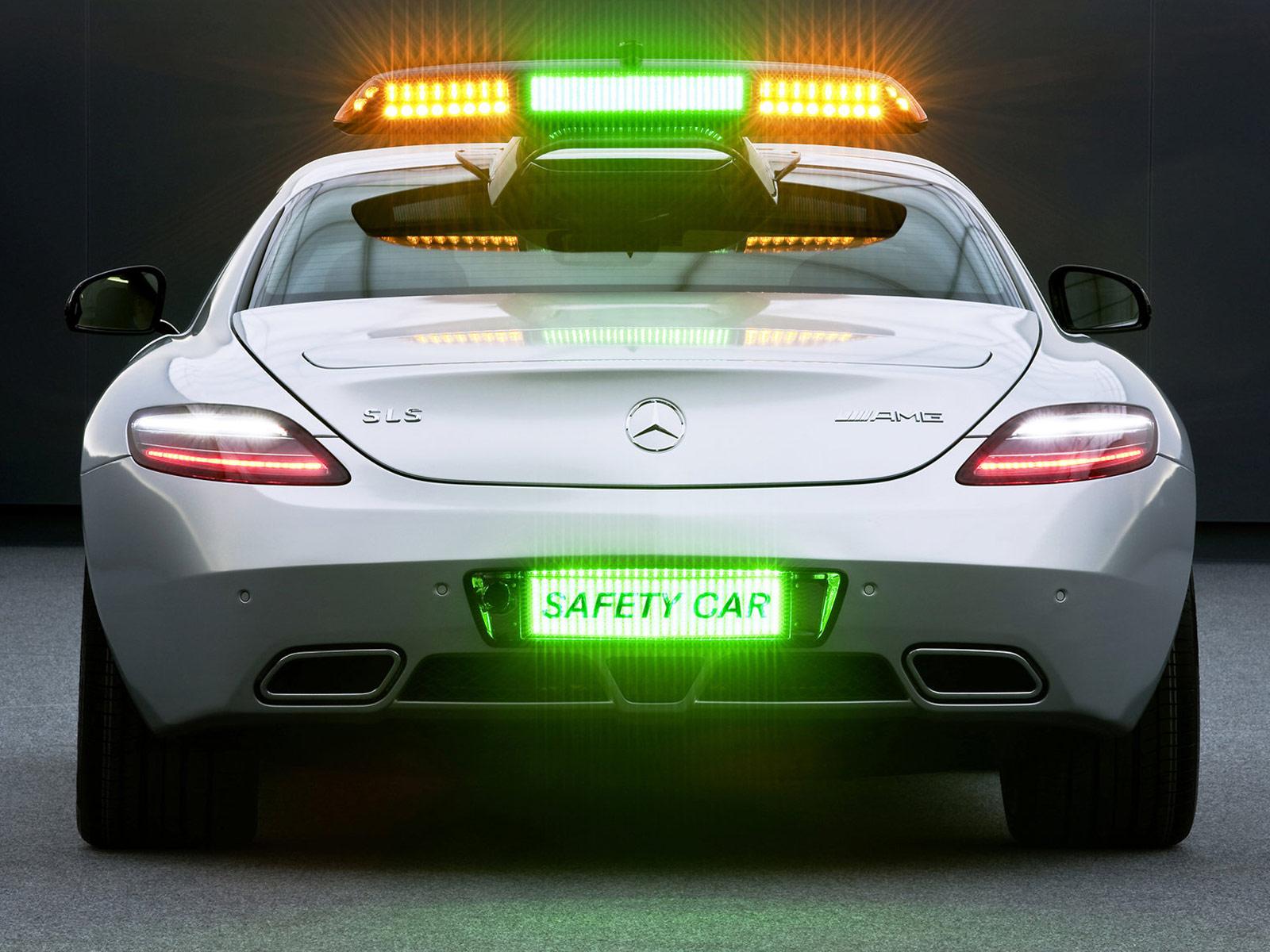 MERCEDES BENZ SLS AMG F1 Safety Car desktop wallpaper Amusing Web 1600x1200