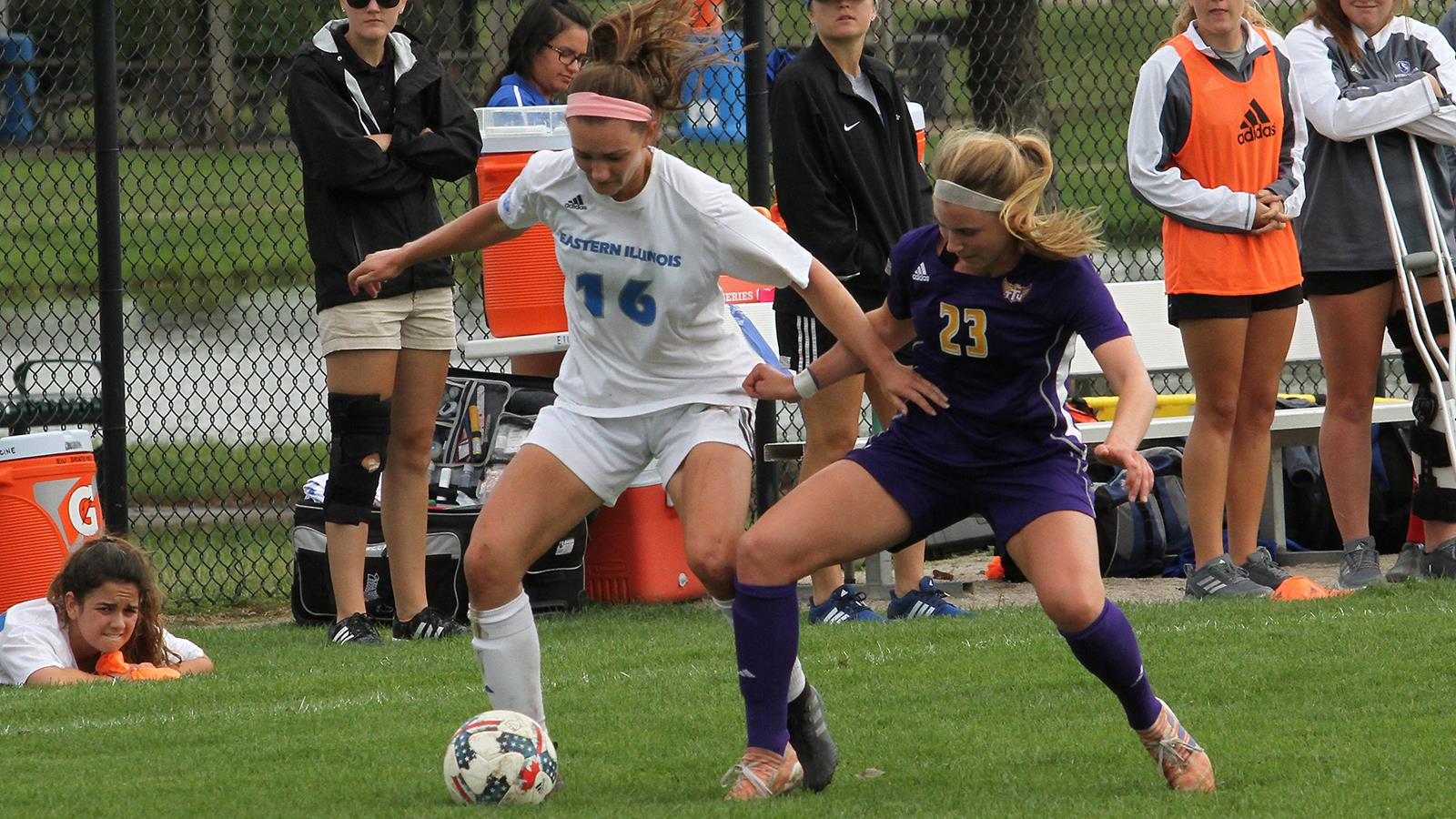 Tausend Scores For Womens Soccer In 2 1 Loss   Eastern Illinois 1600x900