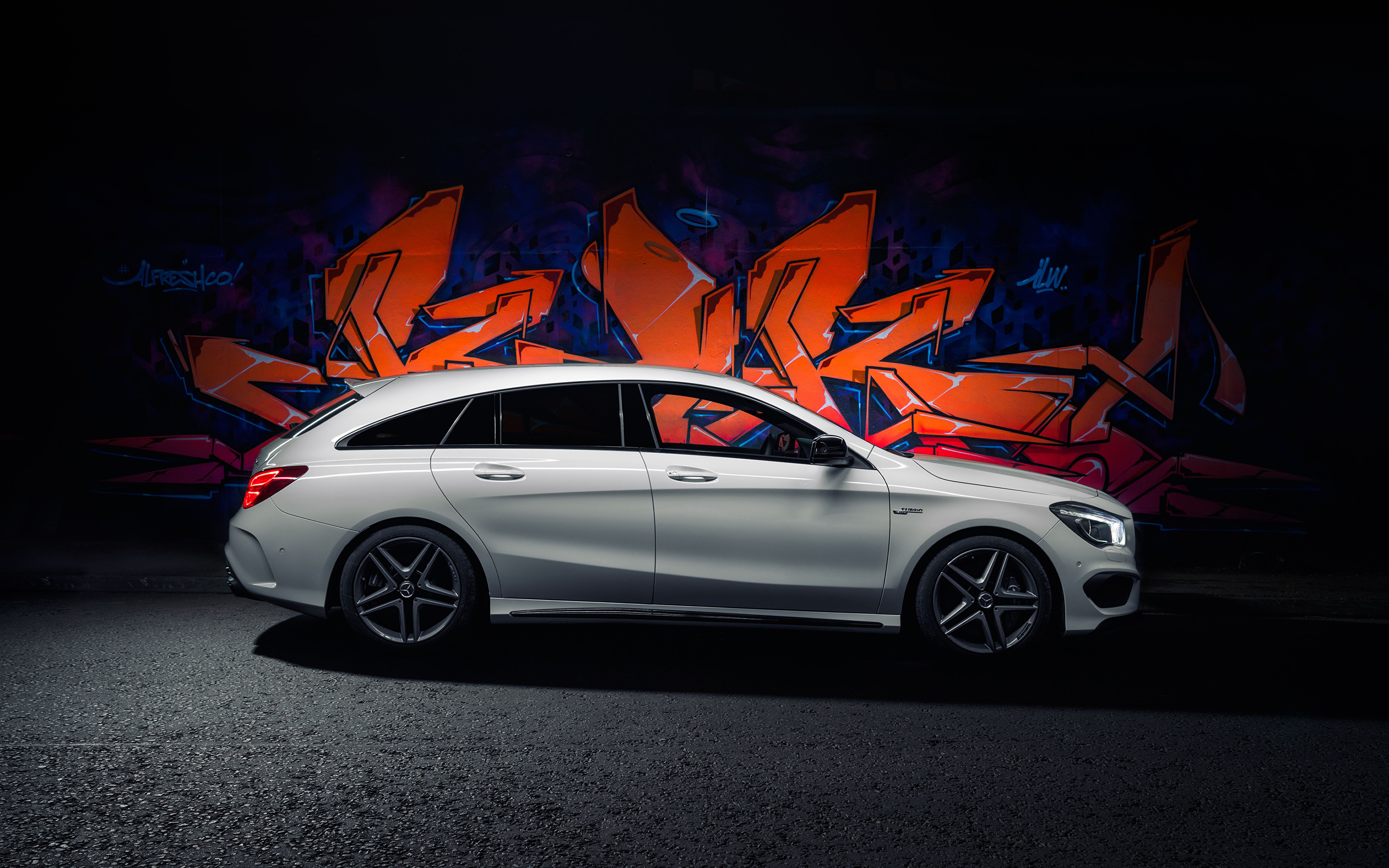 Images Mercedes Benz 2015 AMG CLA 45 Shooting Brake 3840x2400 3840x2400
