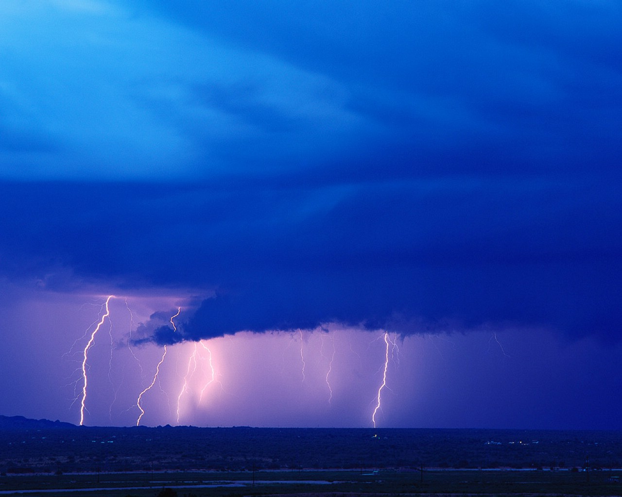 image Lightning strike in laundry