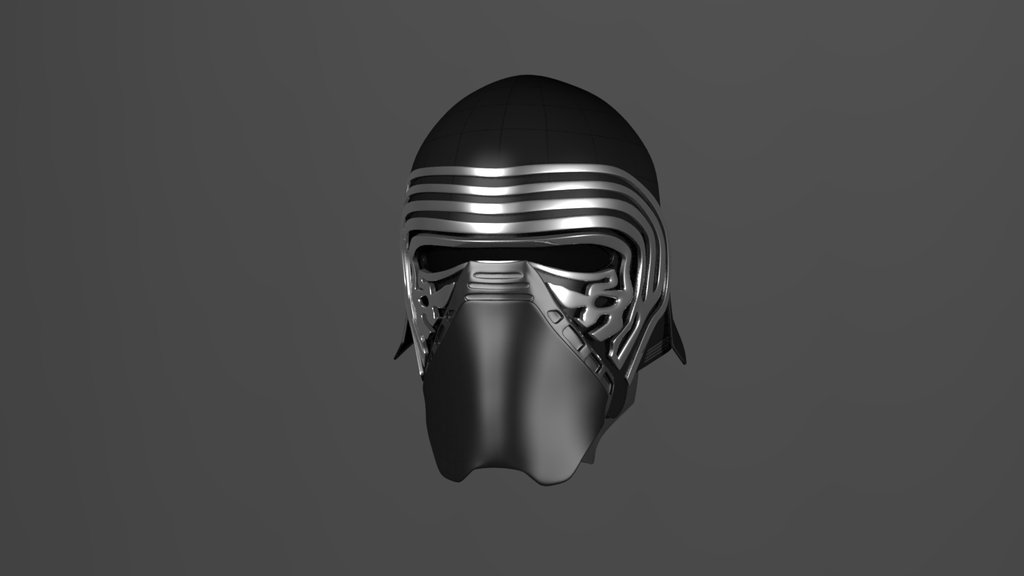 Kylo Ren Mask 3D model not finished by veetovhere 1024x576