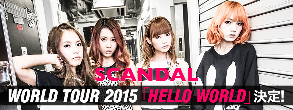 SCANDAL JAPAN BAND WALLPAPER Collection Wallpaper SCANDAL Band From 960x360