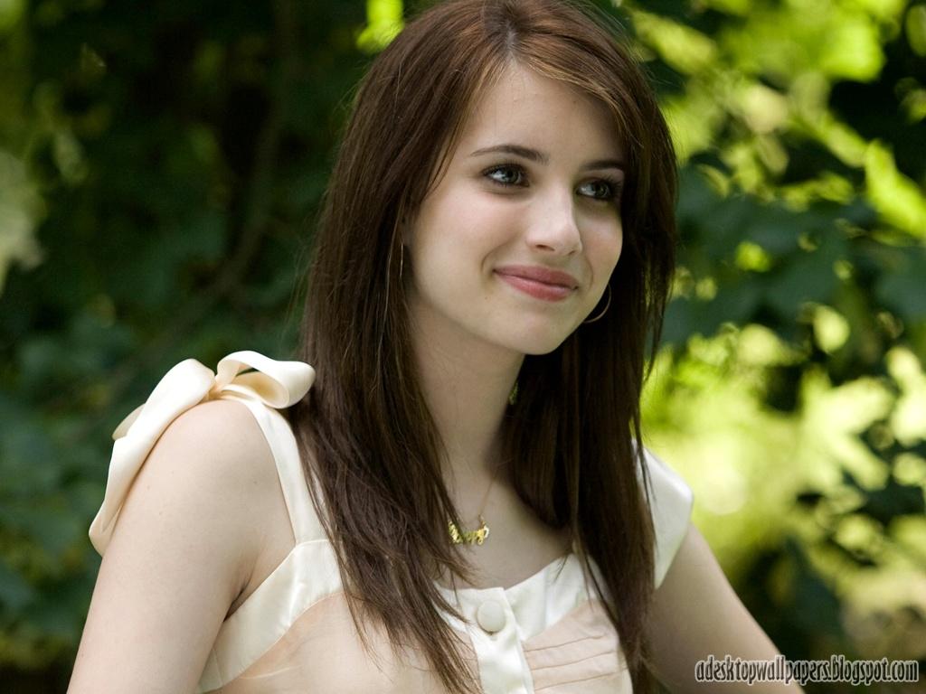 Beautiful Emma Roberts Hollywood Actress Desktop Wallpapers http 1024x768