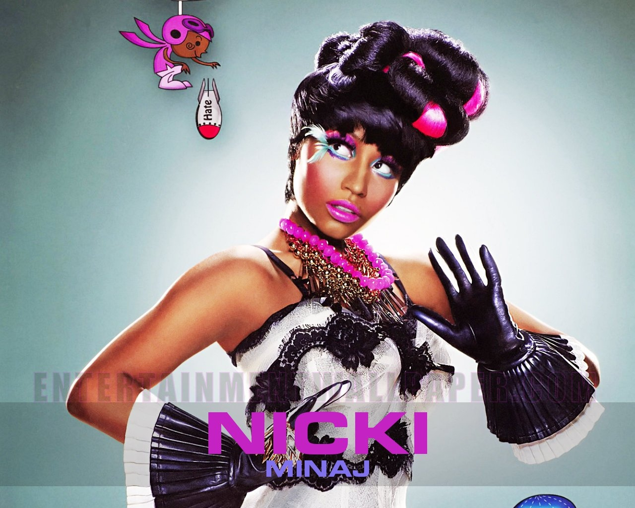 Nicki Minaj Wallpaper   ok U X 1280x1024