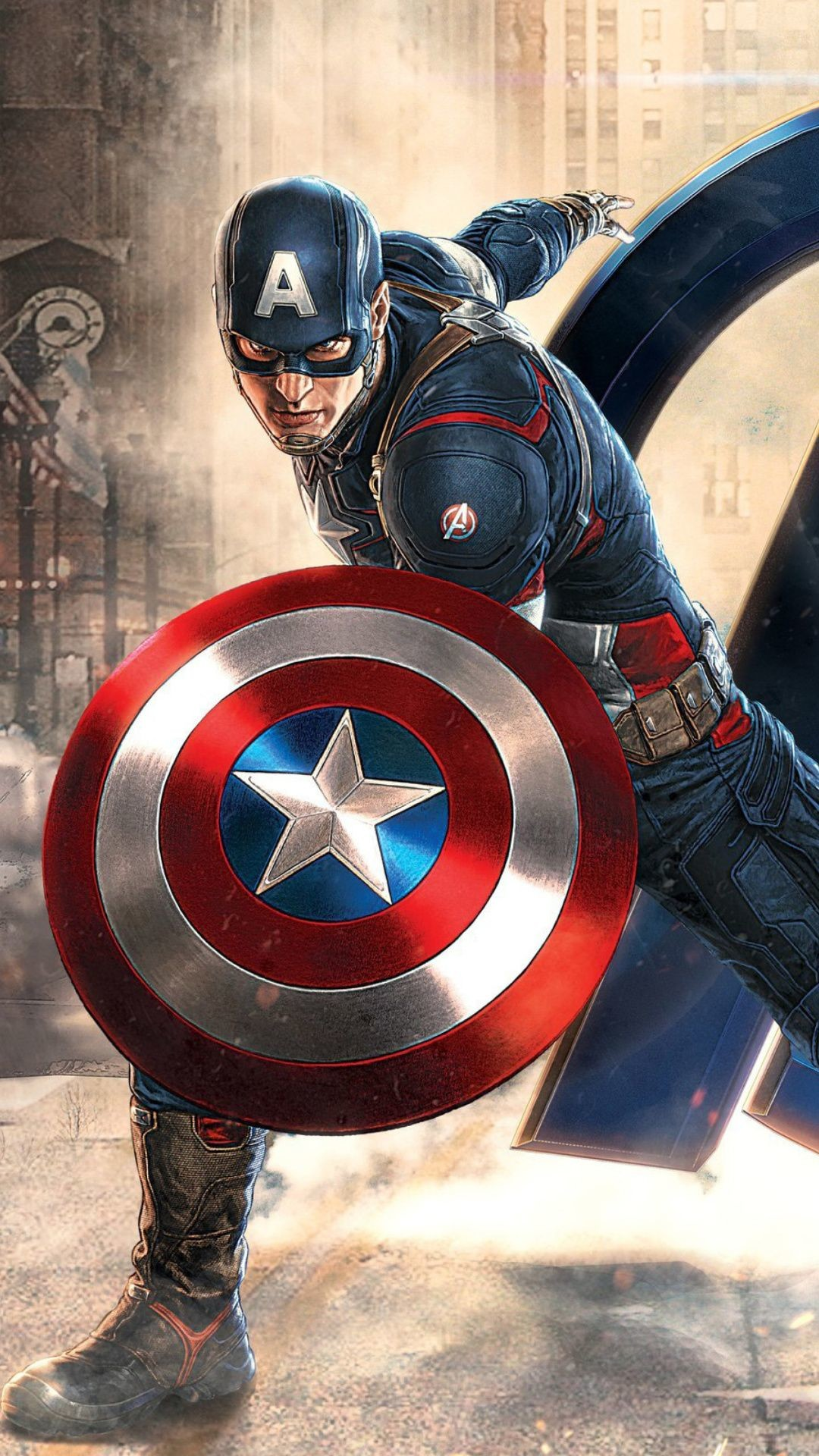 78 Captain America Wallpapers on WallpaperPlay 1080x1920