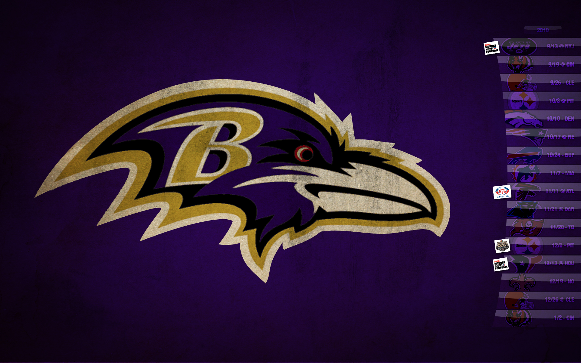 Baltimore Ravens wallpaper desktop image Baltimore Ravens wallpapers 1920x1200