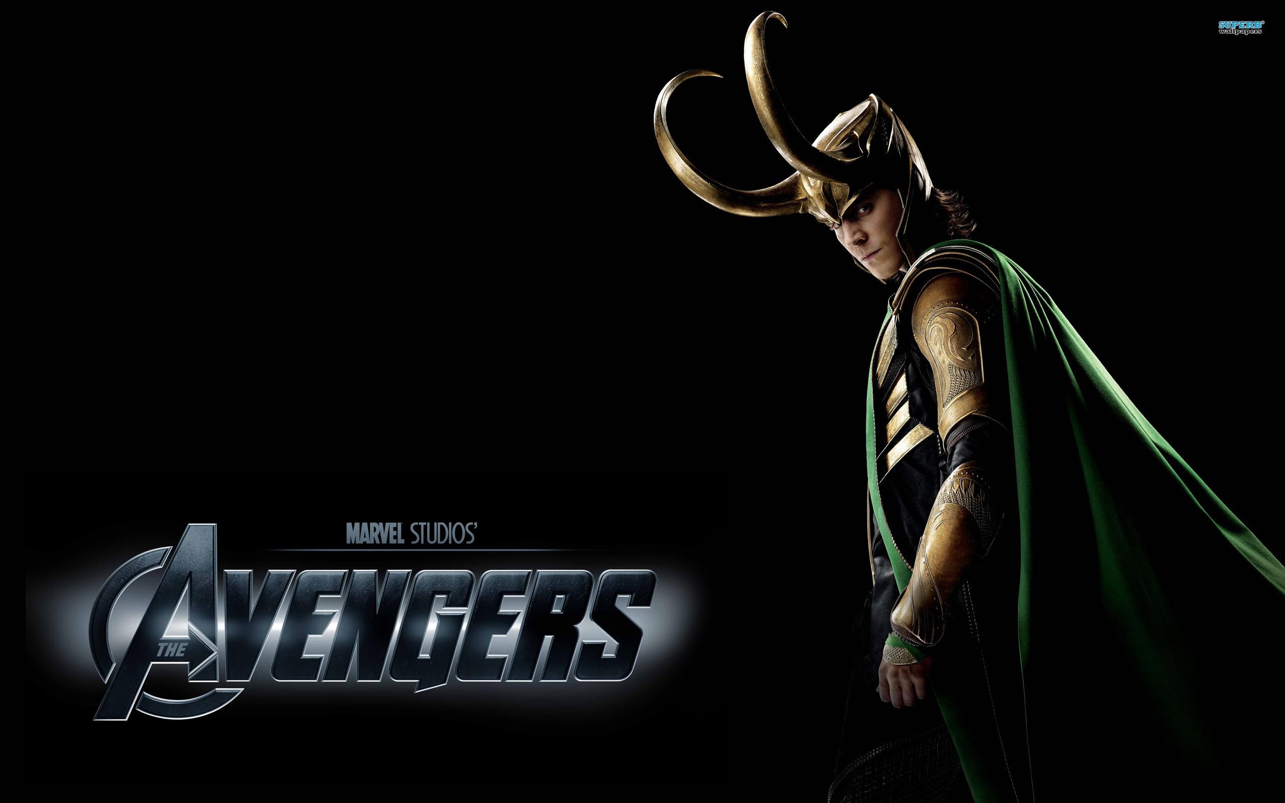 The Avengers Villain Loki HD Wallpapers [Avengers Character Wallpapers 2560x1600