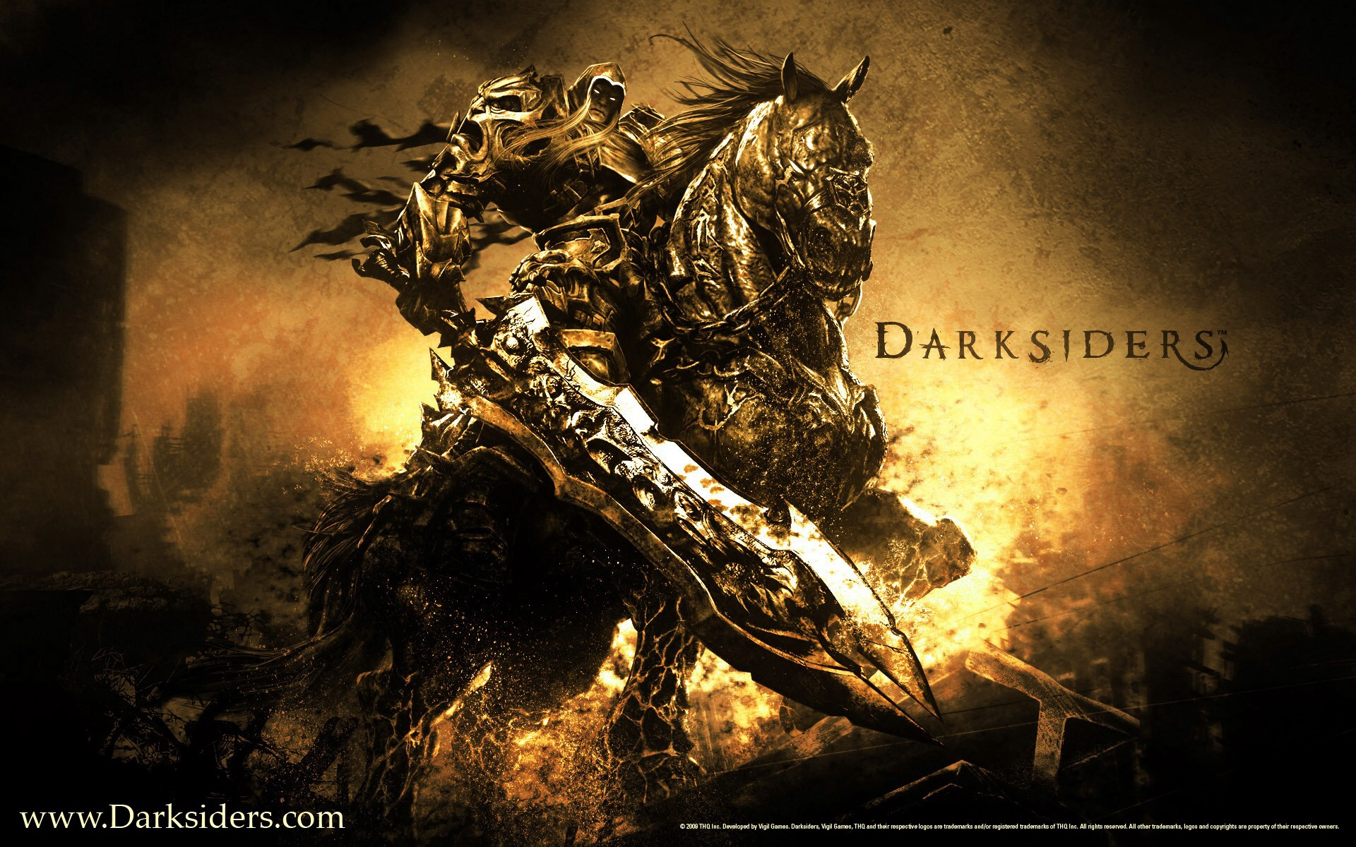 Video Games images Darksiders Wrath of War HD wallpaper and 1920x1200