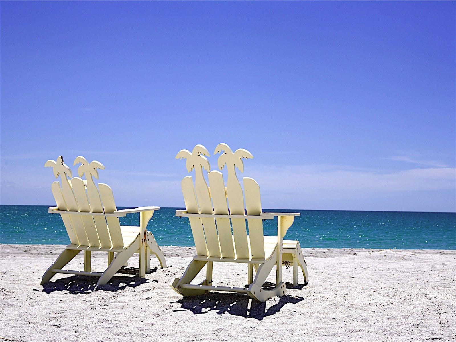 Beach Chair Desktop Wallpaper: [45+] Beach Chairs Wallpaper On WallpaperSafari