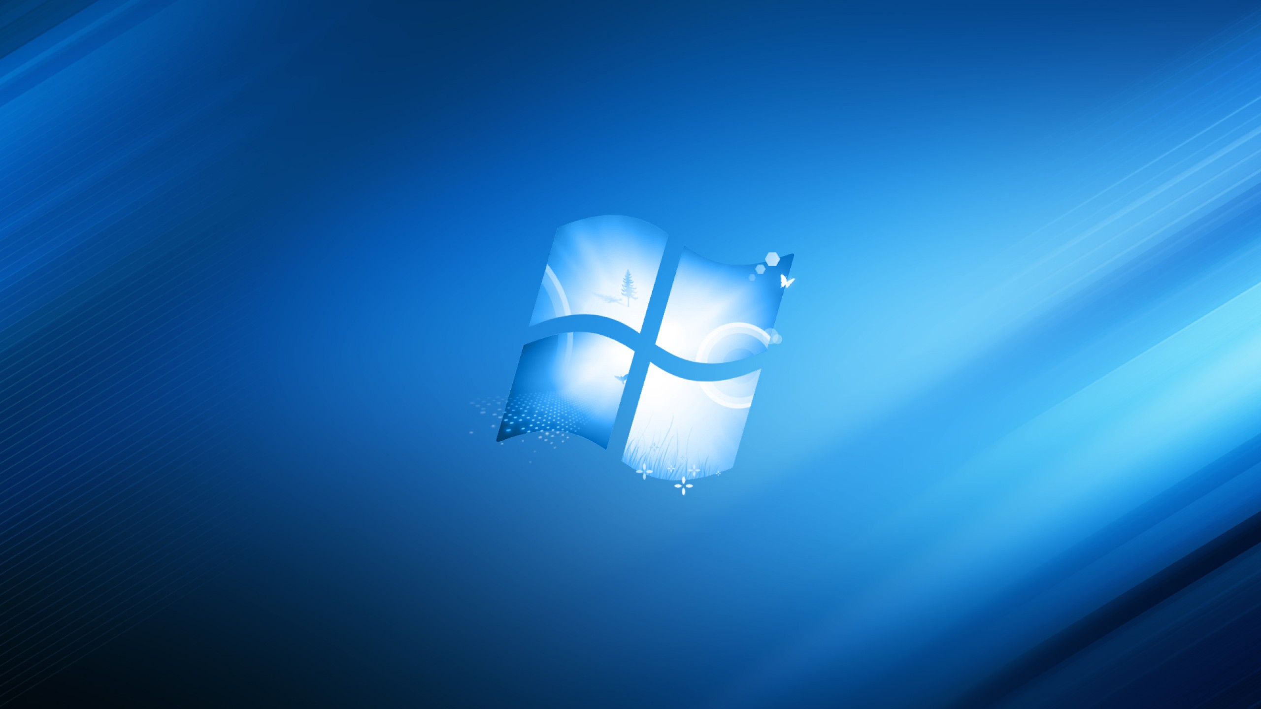 Cool windows 10 blue wallpaper 2560x1440   Wallpaper   Wallpaper Style 2560x1440