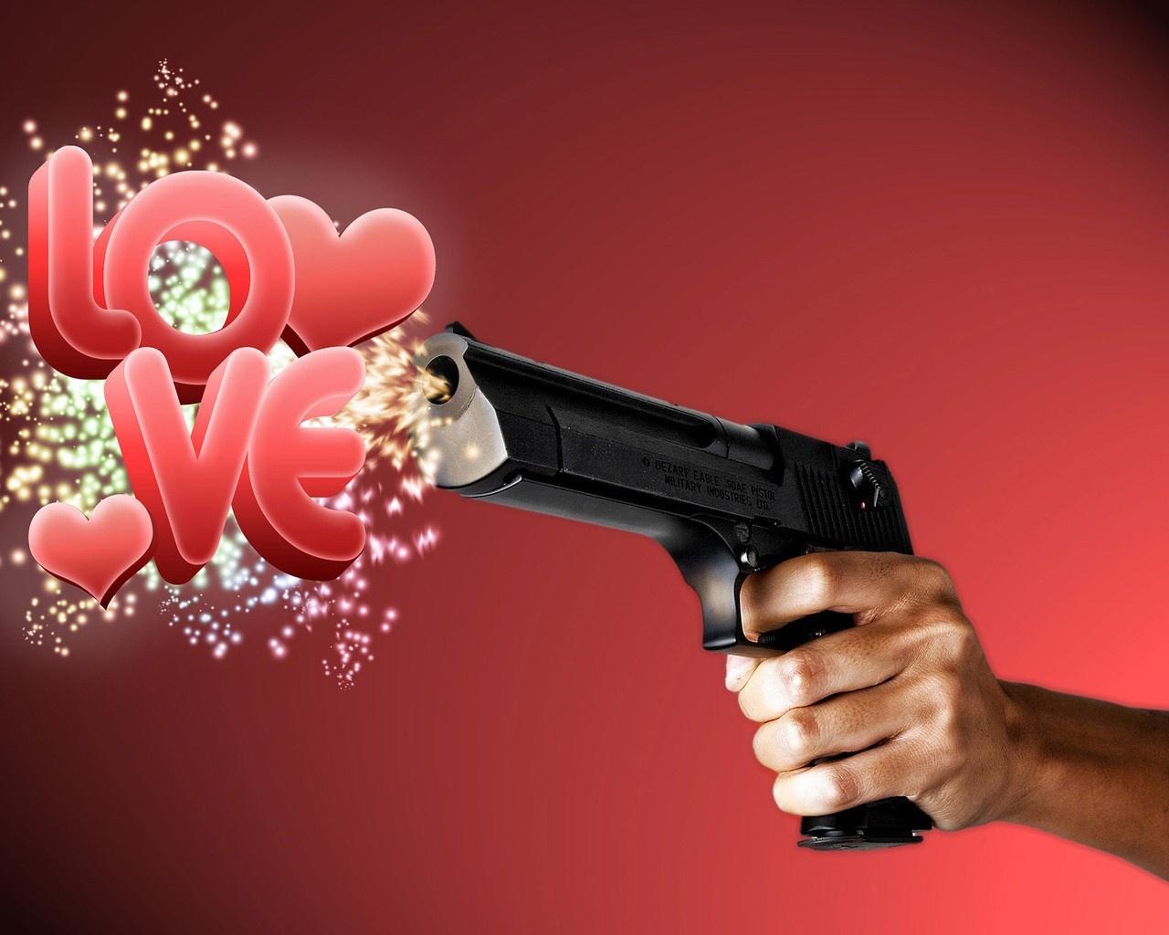 Gangster Love Wallpaper