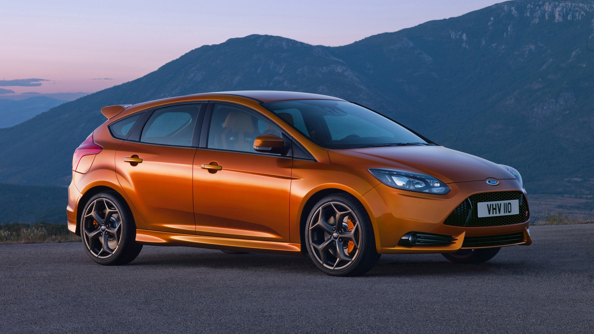 Ford Focus ST 2012 HD Wallpapers 1920x1080