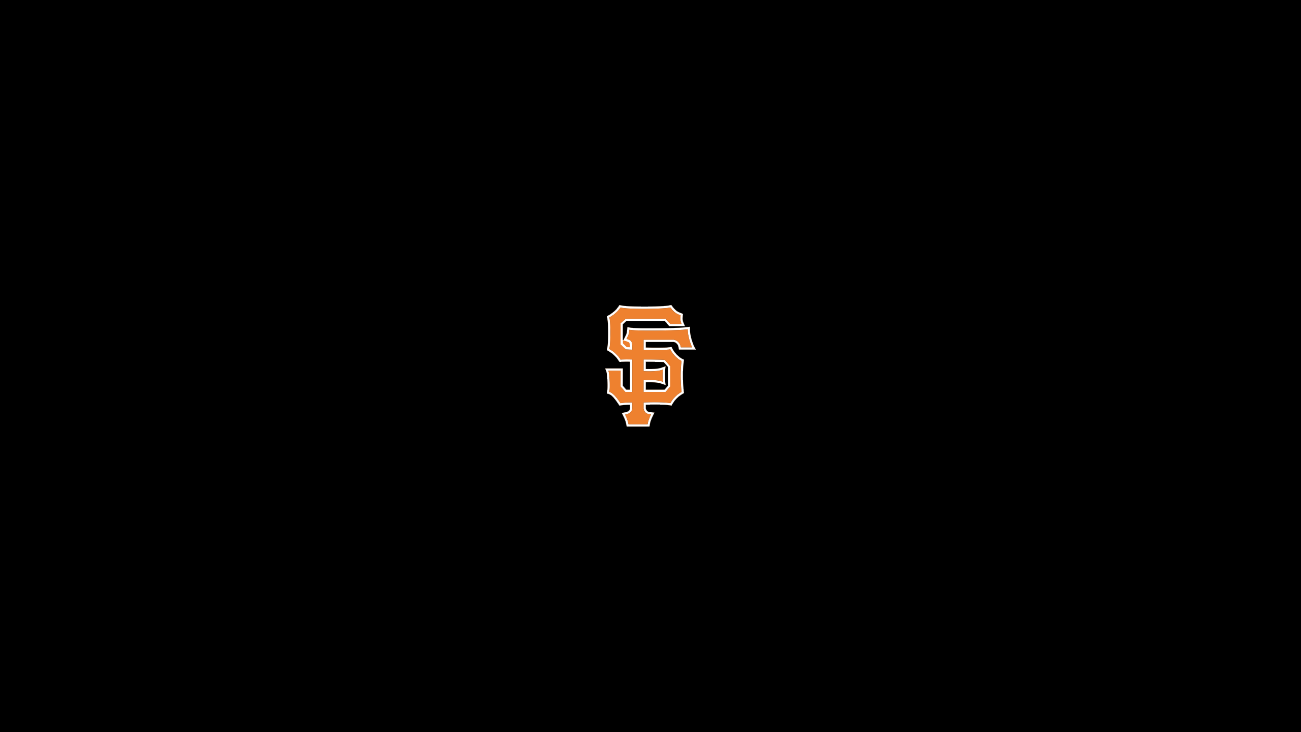San Francisco Giants Logo Wallpapers 2560x1440